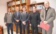 Grupo da Transparência Internacional faz visita a Moro