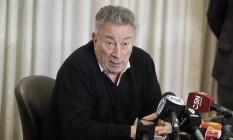 Luis Segura renunciou à presidência da Associação de Futebol da Argentina Foto: Victor R. Caivano / AP