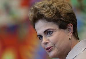 A presidente afastada Dilma Rousseff Foto: Eraldo Peres / AP / 14-6-2016