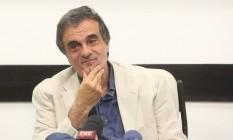 O advogado da presidente afastada, José Eduardo Cardozo Foto: Marcos Alves / Agência O Globo / 21-5-2016