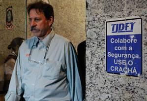 Ex-tesoureiro do PT Delúbio Soares Foto: André Coelho/ O Globo / 30-9-2014