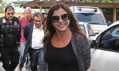 Mônica Moura, esposa do marqueteiro João Santana Foto: Geraldo Bubniak/ 22-2-2016