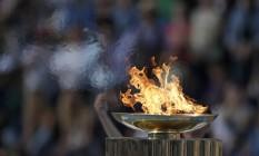 Cerimônia de passagem da chama Olimpíca para o Comitê Rio 2016 Foto: Andre Luiz Mello