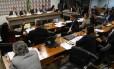 Comissão Especial do Impeachment na sessão desta segunda-feira