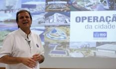 O prefeito do Rio, Eduardo Paes Foto: Domingos Peixoto - 20/06/2016 / Agência O Globo