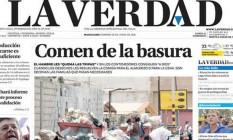 'Diario La Verdad' é mais uma publicação a suspender edição impressa por falta de papel na Venezuela Foto: Reprodução