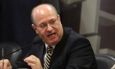 O novo presidente do BC, IIan Goldfajn, em sabatina no Senado na semana passada Foto: Jorge William/7-6-2016 / O Globo