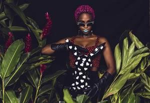 O estilo ousado e fashion de Karol Conka Foto: Divulgação