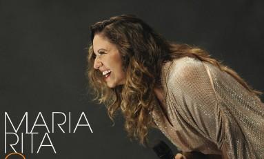 Capa do CD e DVD 'O samba em mim', de Maria Rita Foto: Divulgação