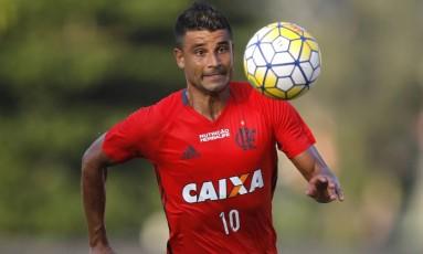 Ederson deve ser titular no Flamengo contra o Internacional Foto: Gilvan de Souza / Divulgação/Flamengo