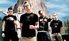 A banda canadense Simple Plan Foto: Divulgação