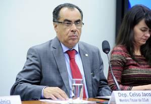 O deputado Celso Jacob (PMDB-RJ) Foto: Alex Ferreira / Câmara dos Deputados