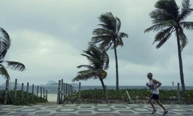 Frente fria no Rio: temperatura caiu desde o fim do El Niño Foto: Guilherme leporace/27-4-2016