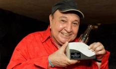 João Donato foi o primeiro a receber o prêmio Foto: Divulgação