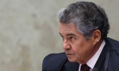 O ministro Marco Aurélio Mello, do Supremo Tribunal Federal Foto: Jorge William / Agência O Globo / 16-6-2016