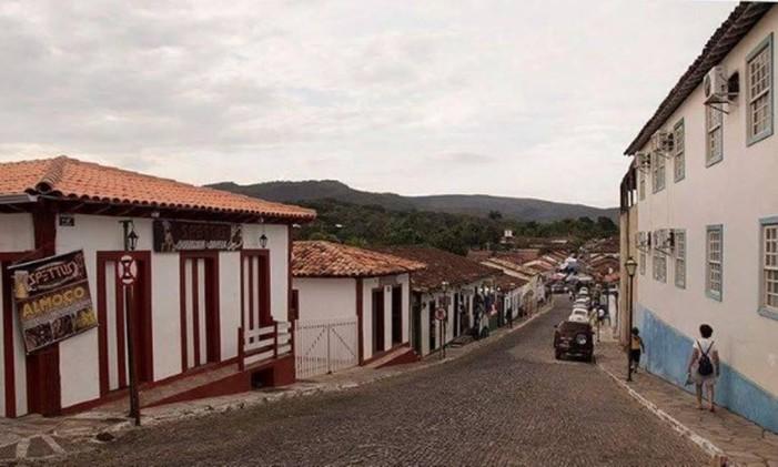 Centro Histórico de Pirenopolis, Goiás Foto: @raisousa51 / Instagram