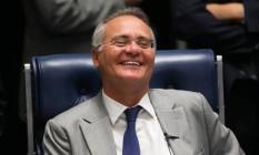 O presidente do Senado, Renan Calheiros (PMDB-AL) Foto: Ailton de Freitas / Agência O Globo / 28-6-2016