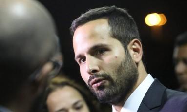 Ministro da Cultura Marcelo Calero fala sobre fraudes na Lei Rouanet Foto: Marcos Alves / Agência O Globo