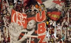 Inquilinato. Torcida do Flamengo no Engenhão, em partida de março de 2011 Foto: Cezar Loureiro / cezar loureiro