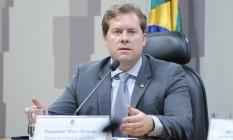 O deputado Marx Beltrão (PMDB-AL): cotado para assumir o Turismo Foto: Lucio Bernardo Junior / Câmara dos Deputados