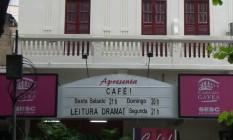 Teatro Casa da Gávea Foto: Divulgação
