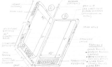 Desenho mostra o esquema do que seria a invenção de Thomas Ross Foto: REPRODUÇÃO