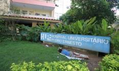 O Hospital Universitário Pedro Ernesto Foto: Fabiano Rocha / Agência O Globo