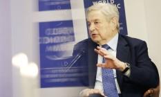 """George Soros foi um dos megainvestidores a lucrar com a aposta no inesperado """"sim"""" ao Brexit Foto: Matthew Lloyd / Bloomberg"""