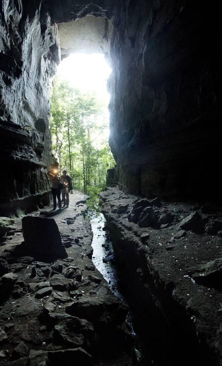 Caverna Kiogo Brado Foto: Márcia Foletto / Agência O Globo