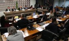 Comissão especial do impeachment Foto: Ailton de Freitas / Agência O Globo