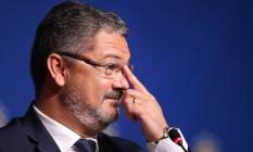 Rogério Micale, treinador da seleção olímpica, disse que não pode dar eco a 'pré-conceitos' contra qualquer jogador Foto: Lucas Figueiredo / Mowa Press