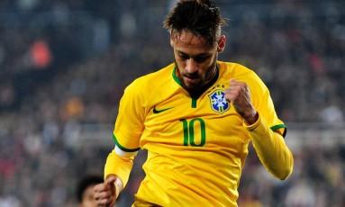 Neymar é o principal nome da seleção brasileira na Olimpíada do Rio Foto: OZAN KOSE / AFP