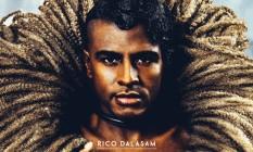 Rico Dalasam posa para a capa de 'Orgunga' Foto: Divulgação