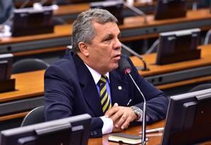 O deputado Alberto Fraga (DEM-DF) Foto: Zeca Ribeiro / Câmara dos Deputados