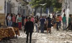 Festa Literária Internacional de Paraty Foto: Alexandre Cassiano / Agência O Globo