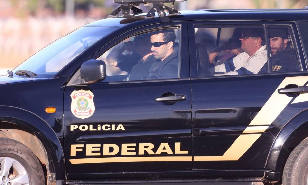PF também prendeu o ex-diretor da Delta, Claudio Abreu em Goiânia Foto: Jorge William / Agência O Globo