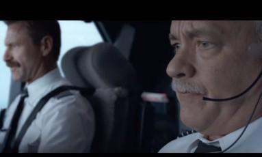 Tom Hanks em 'Sully' Foto: Reprodução