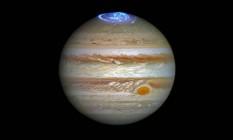 Cientistas querem compreender como o fenômeno é formado no maior planeta do Sistema Solar Foto: NASA