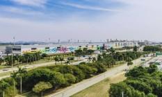 O Píer Sul, espaço com mais de 100 mil m² e 26 novas pontes de embarque no Galeão Foto: Divulgação
