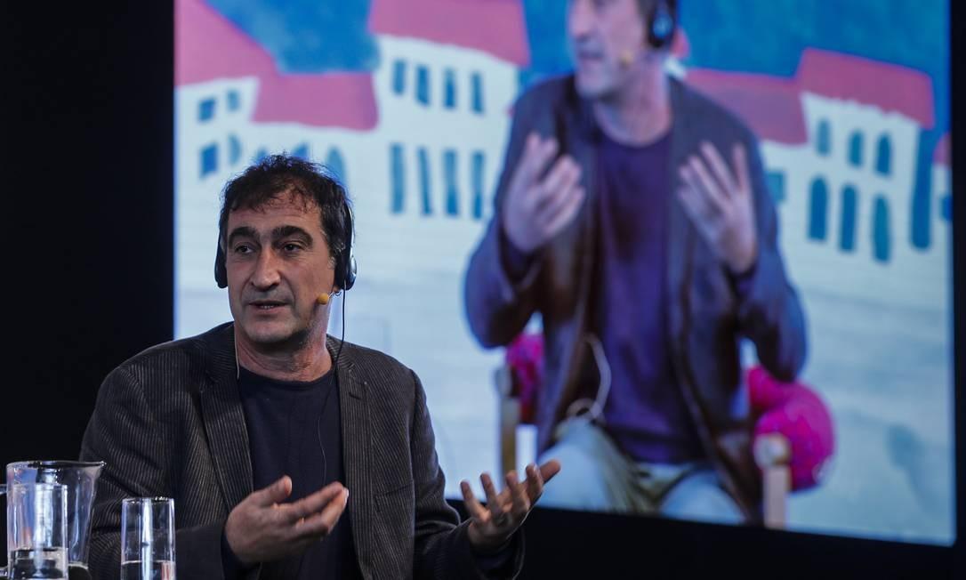 Arquiteto italiano Francesco Careri Foto: Alexandre Cassiano / O Globo