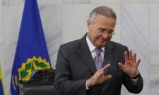 O presidente do Senado, Renan Calheiros (PMDB-AL) Foto: Ailton Freitas / Agência O Globo / 30-6-2016