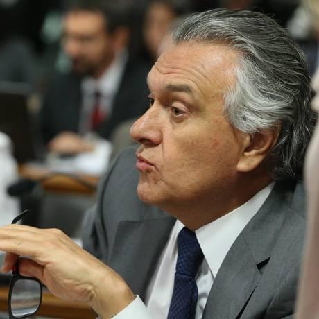 O senador Ronaldo Caiado (DEM-GO) Foto: Jorge William / Agência O Globo / 25-5-2016