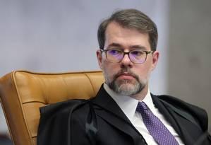 Ministro Dias Toffoli Foto: Nelson Júnior / Agência O Globo