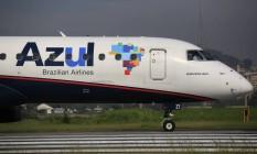 Voos extras da Azul partirão de São Paulo, Belo Horizonte e Porto Alegre Foto: Dado Galdieri/Bloomberg / Bloomberg