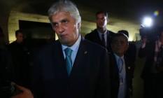 O ex-senador Delcídio Amaral Foto: Ailton de Freitas / Agência O Globo / 9-5-2016