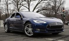 Teska Model S, o mesmo modelo envolvido no acidente Foto: Drew Angerer / Bloomberg/Arquivo