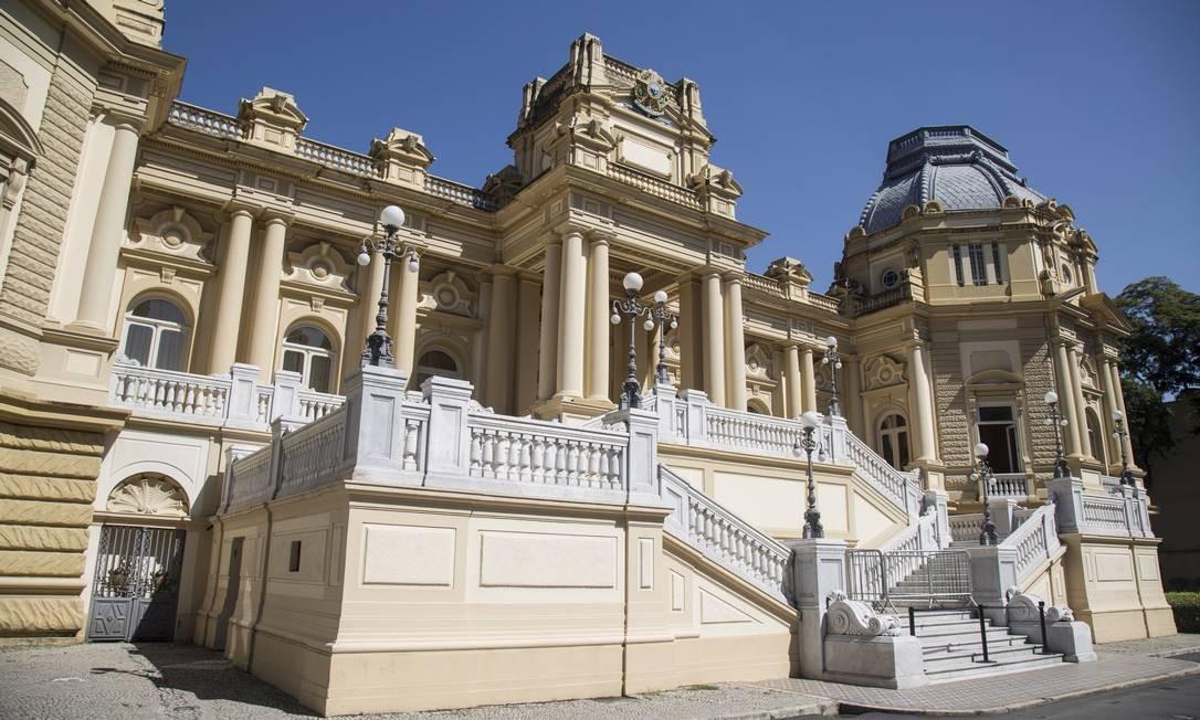 Sede do governo do estado Foto: Ana Branco / Agência O Globo