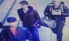 """Imagem disponibilizada pelo jornal turco """"Haberturk"""" mostra os supostos terroristas que atacaram o aeroporto Ataturk, em Istambul Foto: AP"""