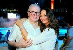 Luiza Brunet e Lirio Parisotto Foto: divulgação / .