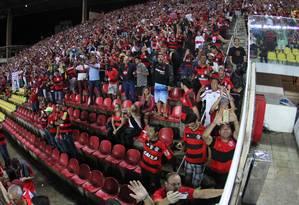Torcida do Flamengo em foto de arquivo Foto: Gilvan de Souza / Flamengo